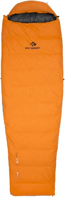 Sea to Summit W's Trek TkI Sleeping Bag Long Orange